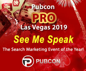 See me at PubCon