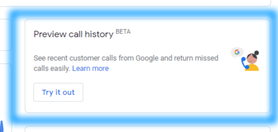 Preview Call History