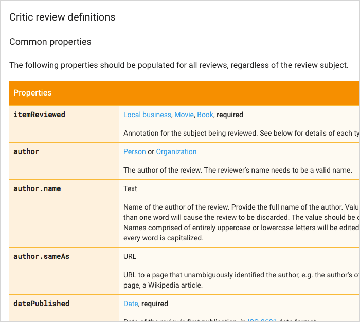 Critic review definitions