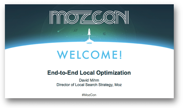 End-to-End Local Optimization by David Mihm