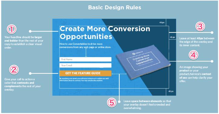オーバーレイのデザインルール