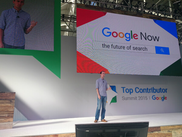 Google Now: The Future of Search - Fred Brewin