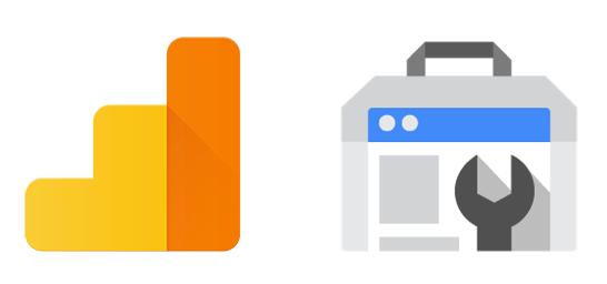 Google アナリティクス ロゴ & Search Console ロゴ