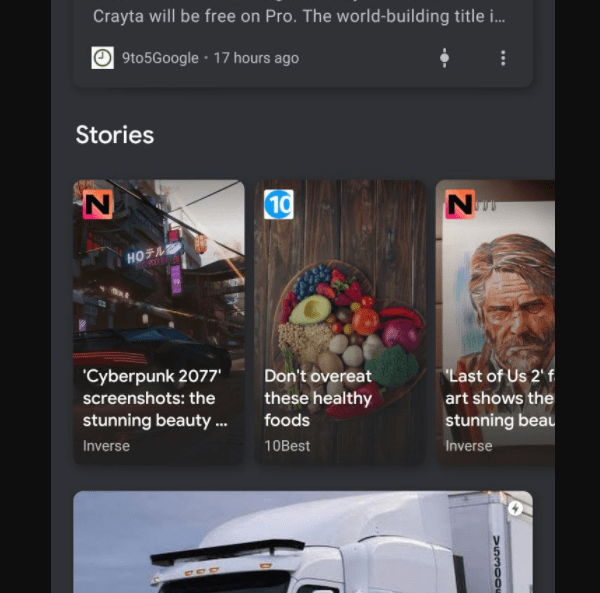 carousel for Web Stories