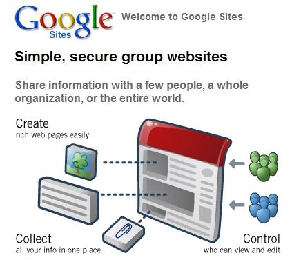 ... Google Sites(グーグル サイト