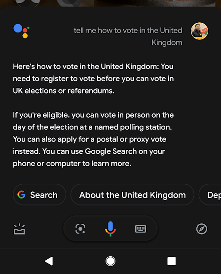 How to vote in UK