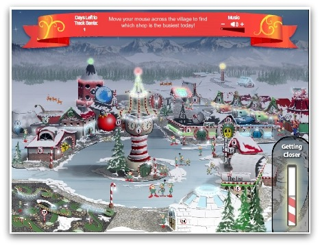 NORAD Santa Kids Count Down