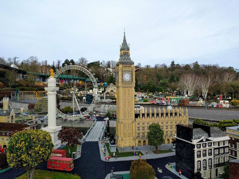 LEGOで作られたBig Ben