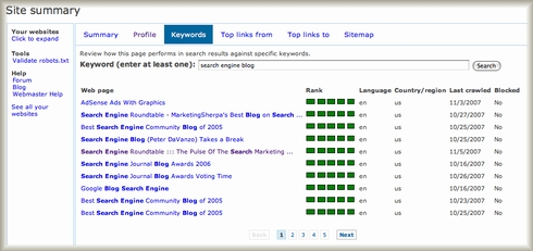 Live Search Webmaster Portal Authenication