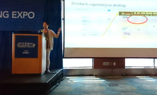 Maile Ohly at SMX Advanced 2014