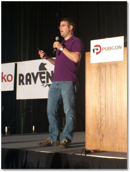 Matt Cutts at PubCon