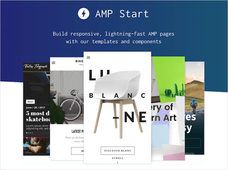 AMP Start のホームページ