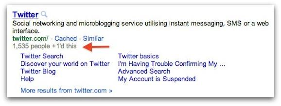 Twitterの+1カウント表示