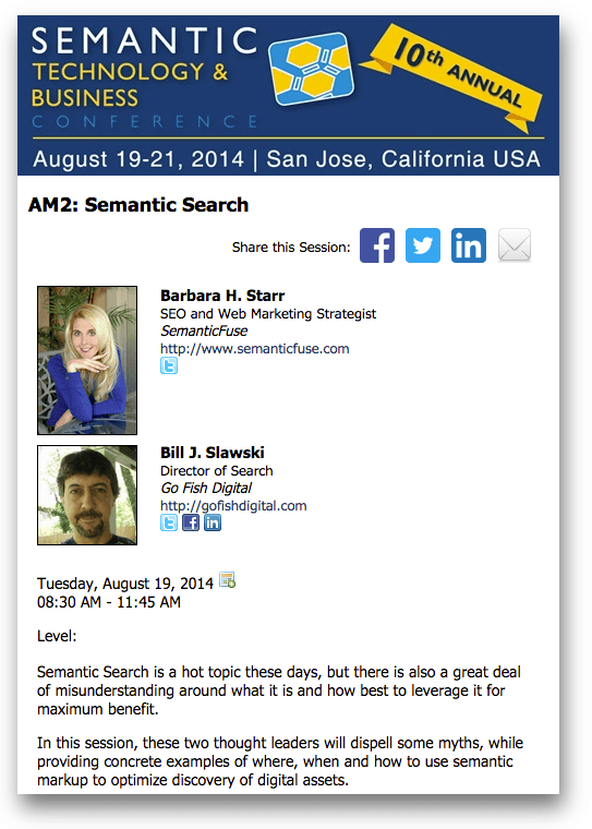 Semantic Search by  and Barbara Starr & Bill Slawski