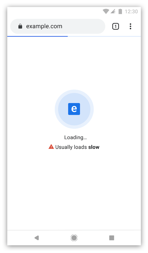 Usually loads slow