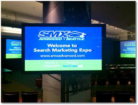 Welcome to SMX のモニタ