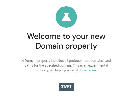 Welcome to your new Domain properties