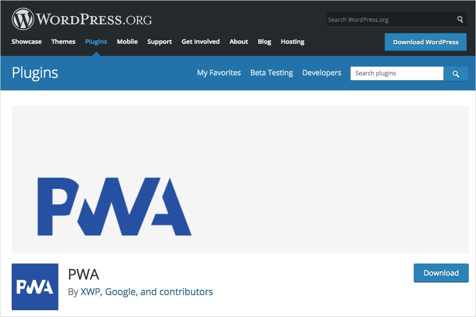 PWA Plugin for WordPress